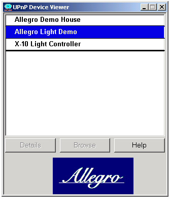 DeviceViewer for UPnP and DLNA Devices - Allegro Software