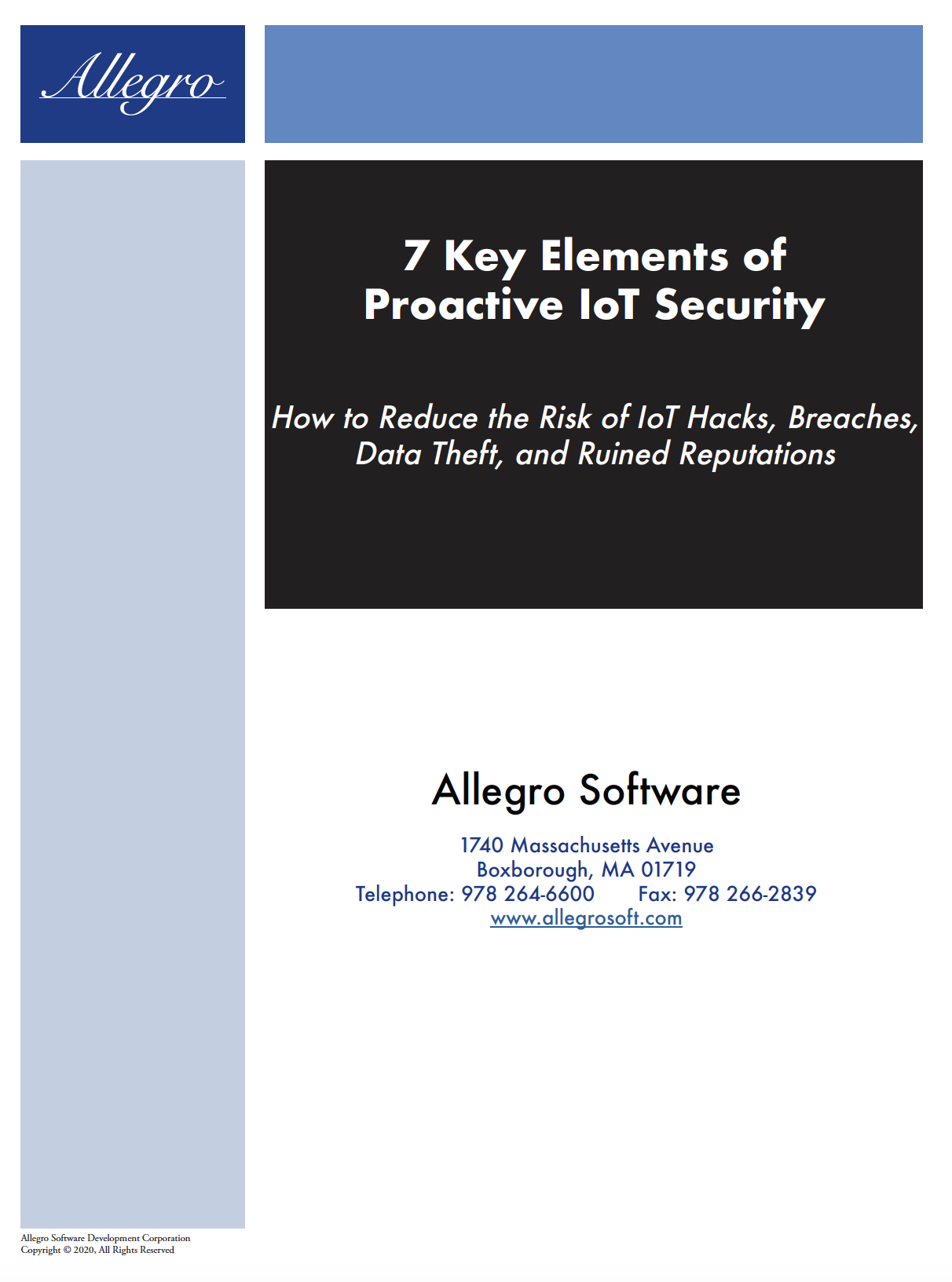 7 Key Elements for IoT Security